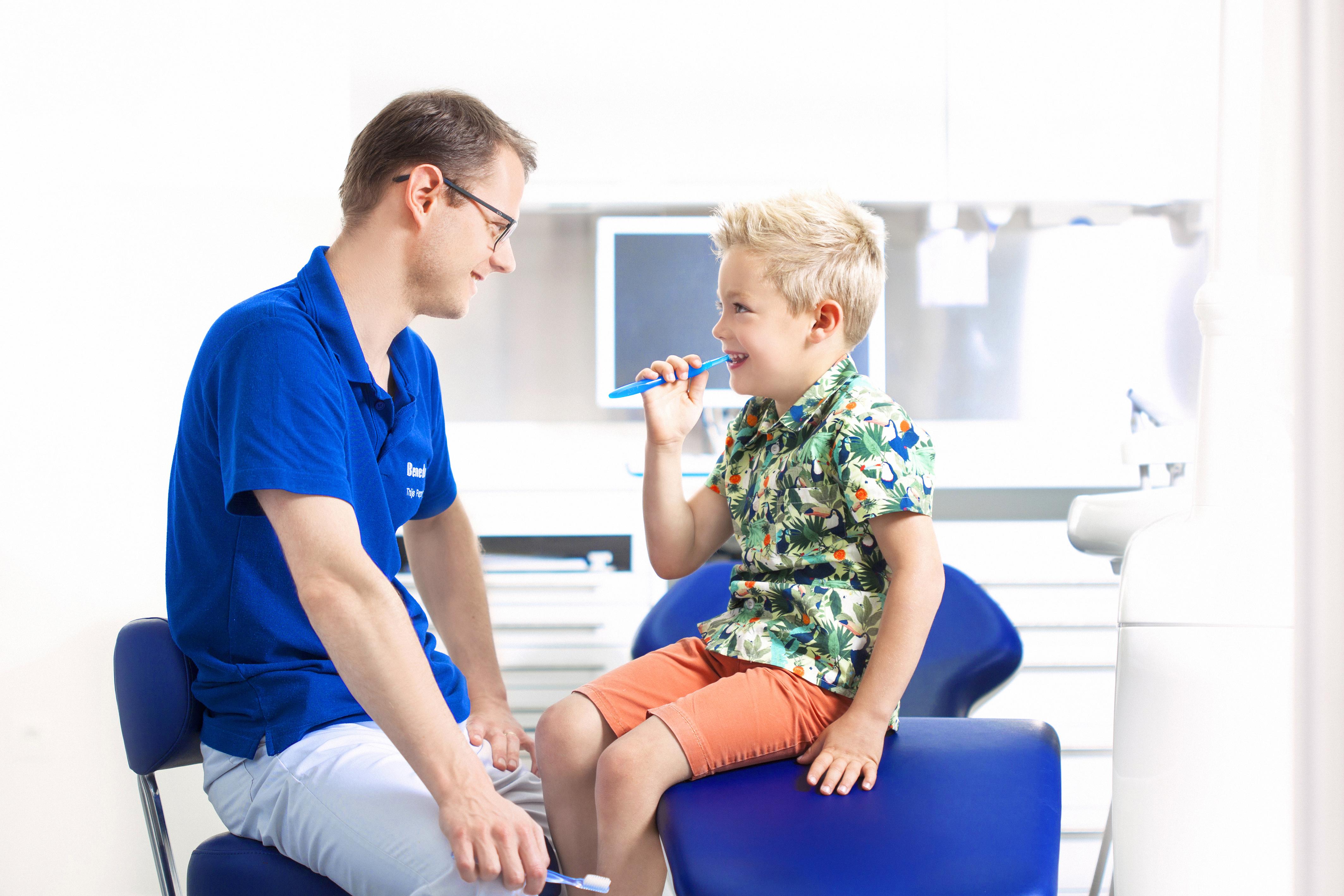 Behandeling tandbederf bij meltanden bij tandarts groepspraktijk Benedenti