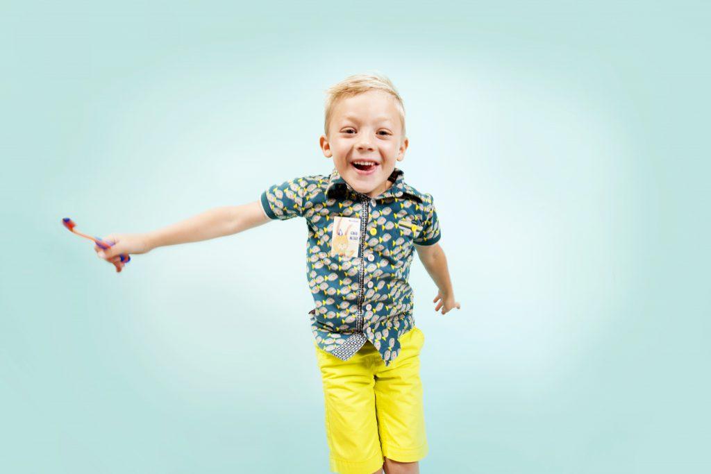 Kind bij tandarts groepspraktijk Benedenti